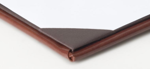 Leather Menu Covers Corner Catch Construction