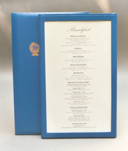 Frame - Single Panel, Double Sided Menu Covers | Menu Boards