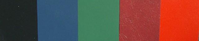 Pajco Menu Covers Material Colors | Pajco Covers