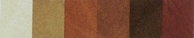 Twilight Colors for Faux Leather Menus Covers brown shades