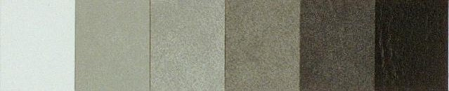 Twilight Material Colors Faux Leather Menu Covers in shade of gray, black and white