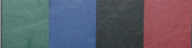Saddle Calf Faux Leather Material for Menu Covers