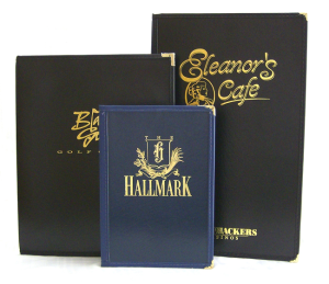 Covered Cafe Menu Covers