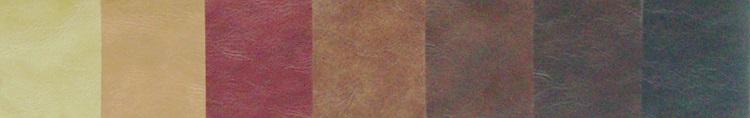 Distressed Cowhide Leather Menu Covers
