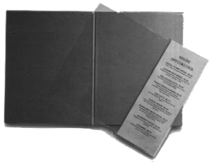 Inserts to add a page or two to your restaurant menus | Add a Page Menu Cover Inserts