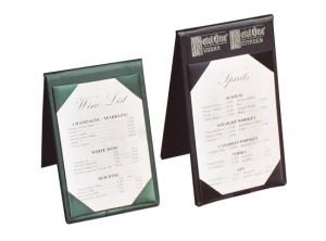 Standard Table Tents for Table Top Displays