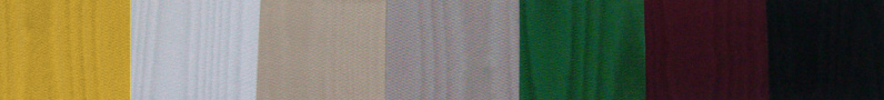 Silk Moire lining material for Fine Dining Menu Covers