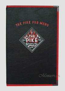 Royal Cafe Custom Menu Covers
