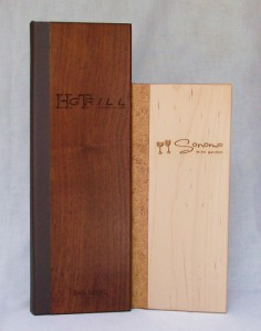 Solid Wood Menu Covers Custom